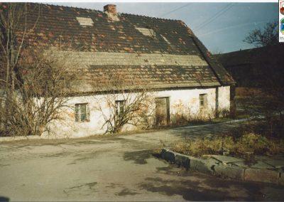 02. Ul. Warszawska nad Wisłą (Czworak) 1993 r. Budynek rozebrany w 2001 r