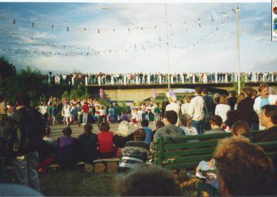 12.Noc Świętojańska nad Wisłą-26.05 1995 r