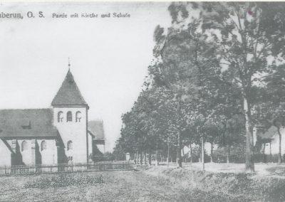 17.Kościół protestancki w Bieruniu Nowym ok. 1910r
