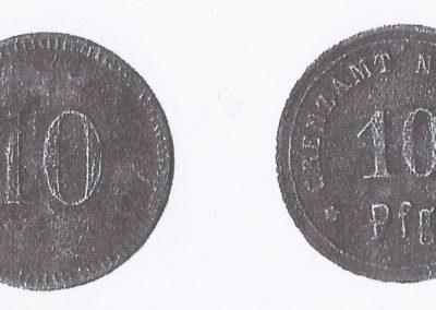 18. Moneta bieruńska. Wybita przed pierwszą wojną św