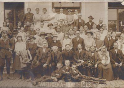 2.Wycieczka do Wieliczki 1923r