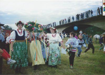 20.Noc Świętojańska nad Wisłą-1995 r