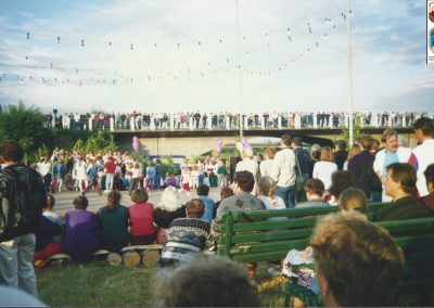 22.Noc Świętojańska nad Wisłą-1995 r