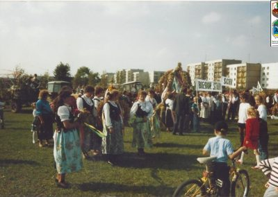 25.Pierwsze gminne dożynki - 1991 r