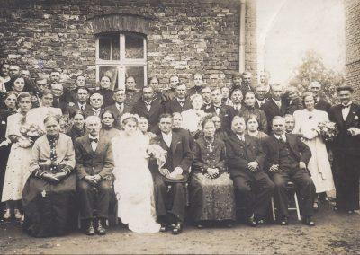 25.Wesele na Zabrzegu 10.07.1938 r. u państwa Kucz