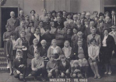 28. Wycieczka do Wieliczki 1968 r