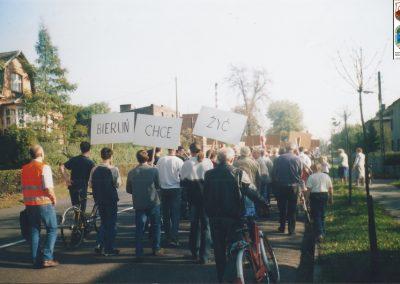 30.Protest na DK 44 na rzecz budowy S1-5.05.2005r