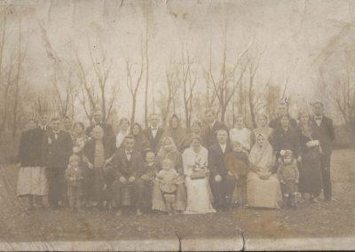 30.Wesele u Malcharków naczelnika gminy Józefa Jagody – Czarnuchowice 1936 rok