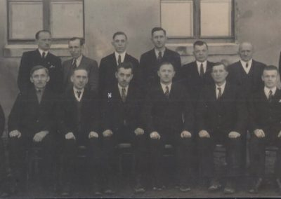 36.1937 r. Czarnuchowice spotkanie opłatkowe