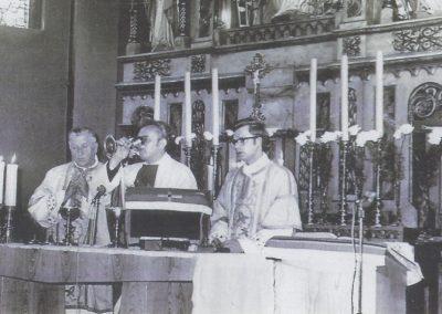 37.msza św. prymicyjna w 1975 roku ks. Benedykta Borkowego