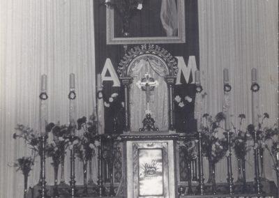 40.Boczny ołatarz w kościele NSPJ w Bieruniu Nowym