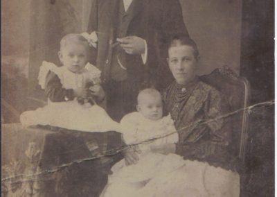 40.Powstaniec Śląski, Jan Mondry ( 1882-1919) z żoną Jadwigą z domu Świerkot ze Świerczyńca