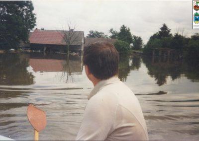 57.Powódź w Czarnuchowicach -1997r