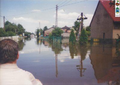 58.Powódź w Czarnuchowicach -1997r