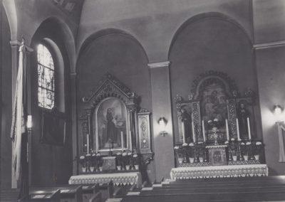 6.Boczny ołatrz w kościele NSPJ w Bieruniu