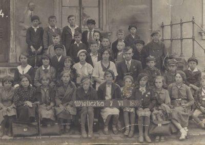 65.Wieliczka 7.06.1935 r. Nauczyciele  Janina Kajtoch i Marian Leśniewski  (Zdjęcie ze zbiorów Urszuli i Doroty Krzakowskich)