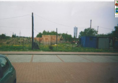 75.Budowa kaplicy cmentarnej przy ul. Soleckiej w 2003 r