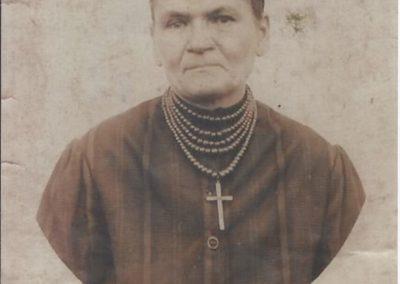 79.Nestorka rodu Maria Matros z d. Plewniok z Czarnuchowic – 1937 r