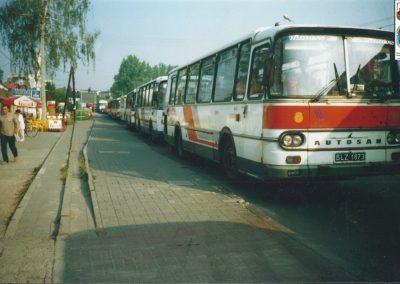 9.ul. Warszawska-18.08.2001 godz.9.00. Fot. Roman Barów