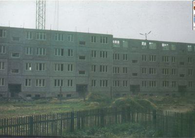 92.Budowa osiedla na Granitowej 1979 r. (bloki 72-84) (ze zbiorów Jana Gawliczka)