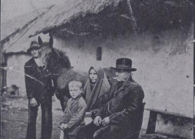 93.Czarnuchowice 1930 r. Stare siedlisko Józefa i Rozalii Ganobis