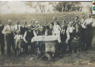 94.Wesele w Czarnuchowicach u Ignacego Malcharka-1938 r