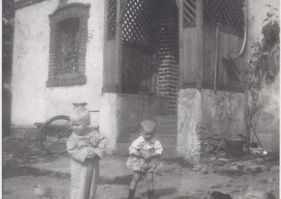 98.Dom Tomasza Palki w Czarnuchowicach - 1955 r. Zdjęcia ze zbioru Zofii i Benedykta Gajda