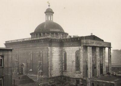 Budowa katedry w Katowicach