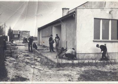 Nieistniejący klub rolnika w Bijasowicach. Rozebrany w latach 80-tych XX w