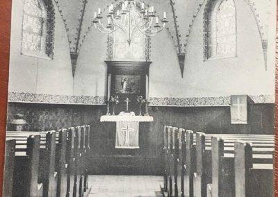 ołtarz w kościele protestanckim. Obecny kościół NSPJ w Bieruniu Nowym
