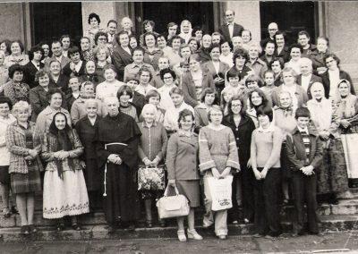 Pielgrzymka do Niepokalanowa 1977
