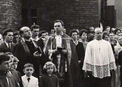 Poświęcenie Krzyża Misyjnego 1964