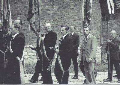 Procesja - kościół NSPJ w Bieruniu