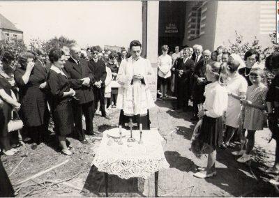 Prymicje ks. Herberta Hensloka czerwiec 1967