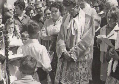 Prymicje ks. Jerzego Klimy 1968