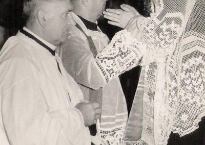 Prymicje ks. Kruka 1962r.