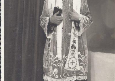 108.Ks. Augustyn Nagy Sercanin (1934-1994). Syn Wojciecha i Marty z domu Mondry