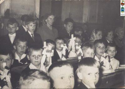 110.Rok 1963 I Komunia Św. rocznika 1954