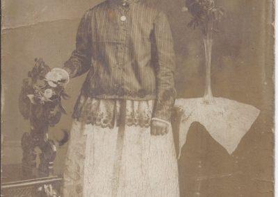 116.Anna Kutz z d. Uszok, żona naczelnika gminy Zabrzeg Filipa Kutza (1836-1910)