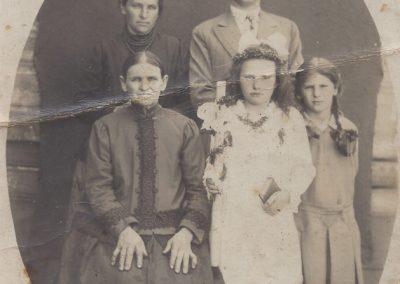 144.Rody Jagoda, Palka i Zieliński z Czarnuchowic. Zdjęcia pochodzą ze zbiorów p. Cecylii Ziebura
