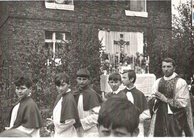 5. Ks. prof. Michał Szuba. Boże Ciało 1970